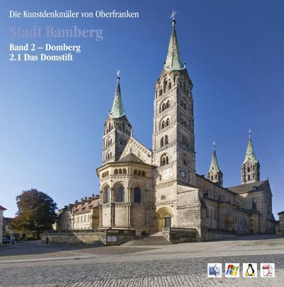 Stadt Bamberg: Bd. 2: Domberg, 1. Drittelband: Das Domstift - Deutscher Kunstverlag - CD-ROM, Deutsch, Matthias Exner, Domberg, 1. Drittelband: Das Domstift, Domberg, 1. Drittelband: Das Domstift