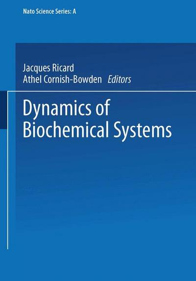 Dynamics of Biochemical Systems