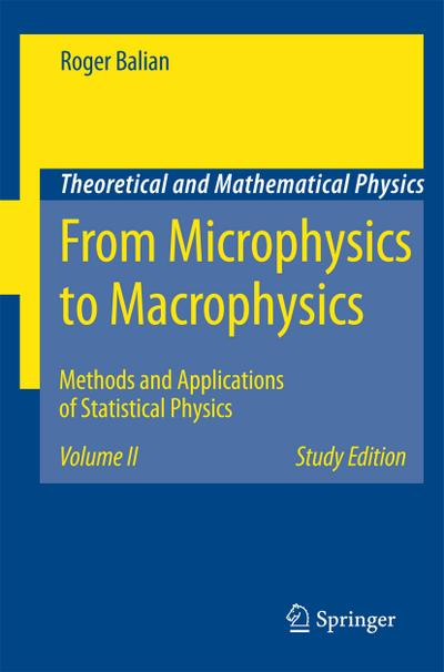 From Microphysics to Macrophysics. Vol.2