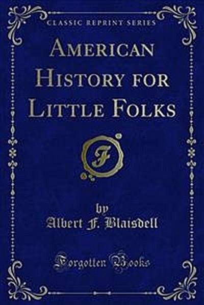 American History for Little Folks