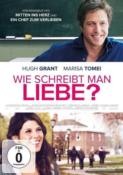 Wie schreibt man Liebe?, 1 DVD