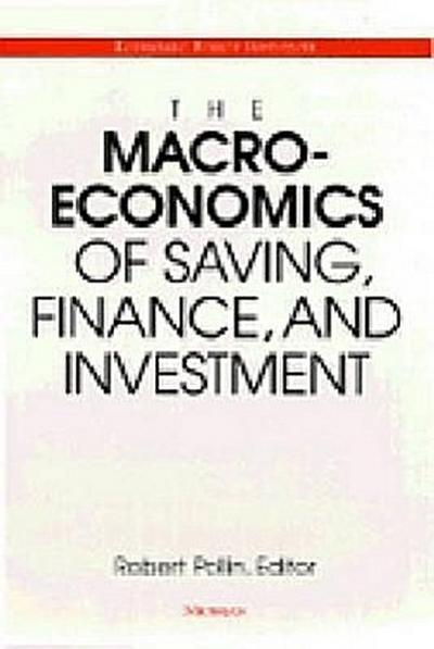 The Macroeconomics of Saving, Finance, and Investment
