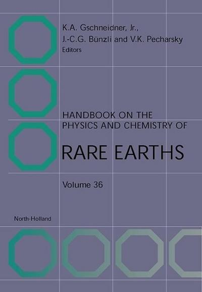 Handbook on the Physics and Chemistry of Rare Earths, Volume 36