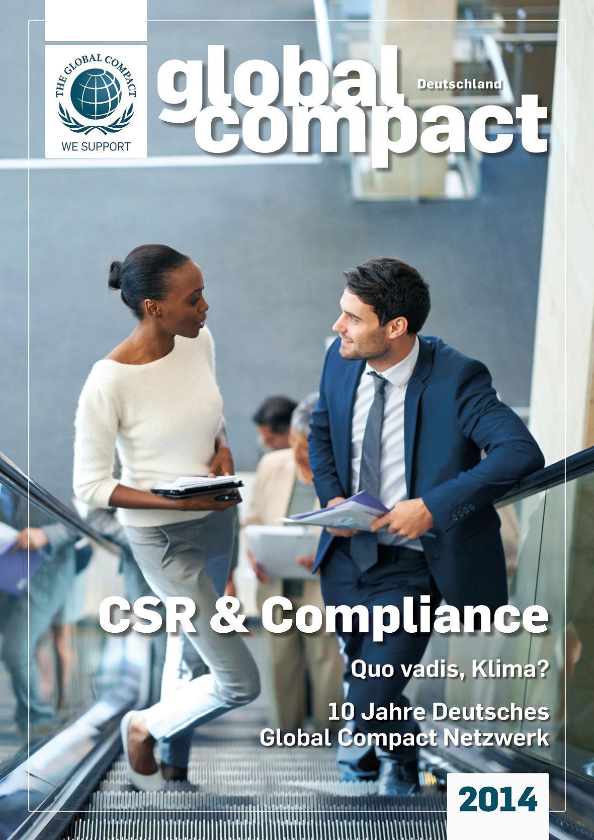 Global Compact Deutschland 2014 -  -  9783981354089