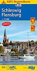 ADFC-Regionalkarte Schleswig Flensburg 1:75.000