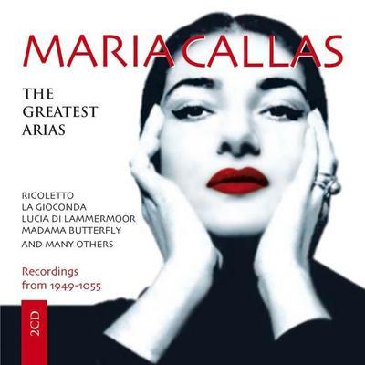 Maria Callas - The Greatest Arias, 2 Audio-CDs