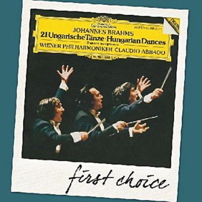 21 Ungarische Tänze, 1 Audio-CD