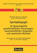 Sportpädagogik im Spannungsfeld gesellschaftl ...