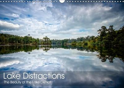 Lake Distractions (Wall Calendar 2019 DIN A3 Landscape)