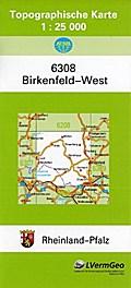 Birkenfeld West  1 : 25 000