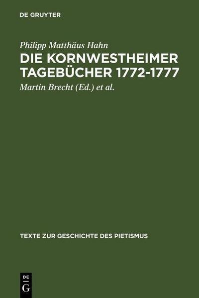 Die Kornwestheimer Tagebücher 1772-1777