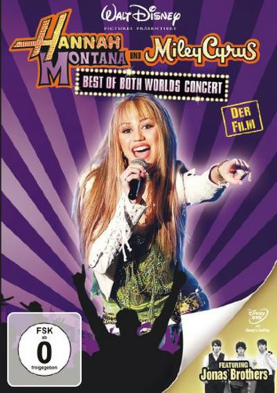 Hannah Montana/Miley Cyrus: Best of Both Worlds Concert - Touchstone - DVD, Deutsch| Englisch, Bruce Hendricks, Für Hörgeschädigte geeignet. .. USA, Für Hörgeschädigte geeignet. .. USA