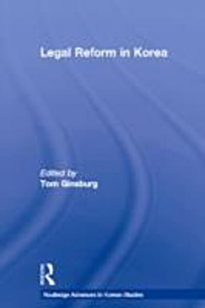 Legal Reform in Korea