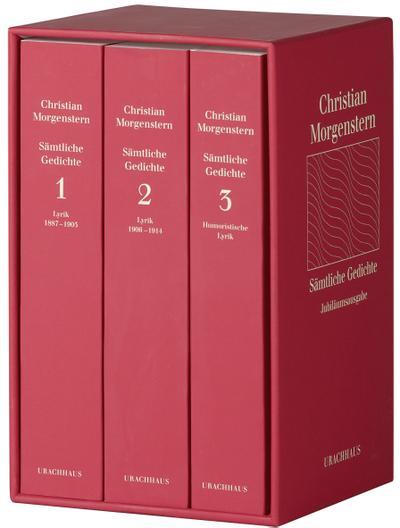 Sämtliche Gedichte, 3 Bände