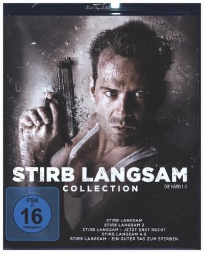 Stirb langsam1-5, 5 Blu-ray