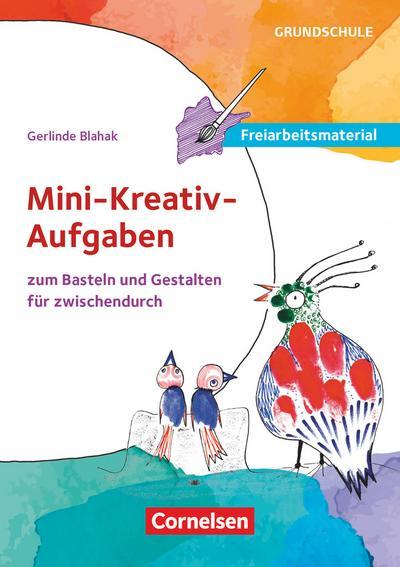 Mini-kreativ-Aufgaben zum Basteln und Gestalten für zwischendurch