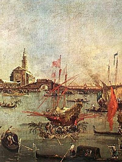 Francesco Guardi - Gemäldeserie