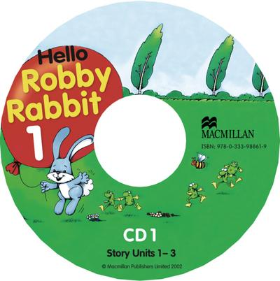 Hello Robby Rabbit. Level 1. 2 Audio-CD's