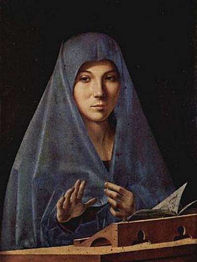 Antonello da Messina - Maria der Verkündigung - 200 Teile (Puzzle)