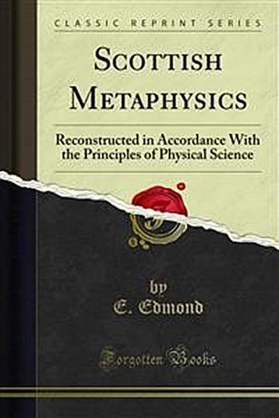 Scottish Metaphysics