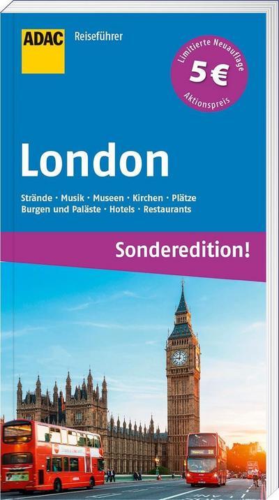 ADAC Reiseführer London (Sonderedition); ADAC Reiseführer; Deutsch
