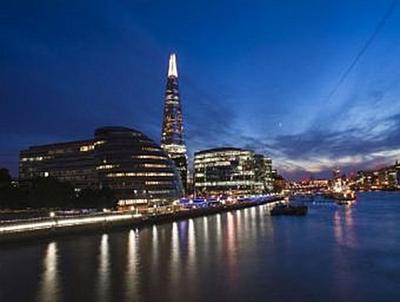 Sonnenuntergang London - 100 Teile (Puzzle)