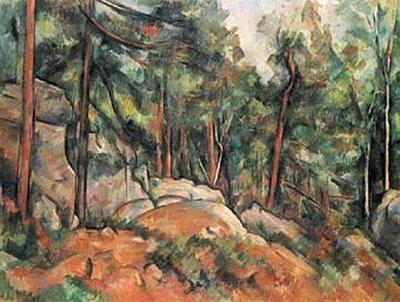 Paul Cézanne - Im Wald - 100 Teile (Puzzle)
