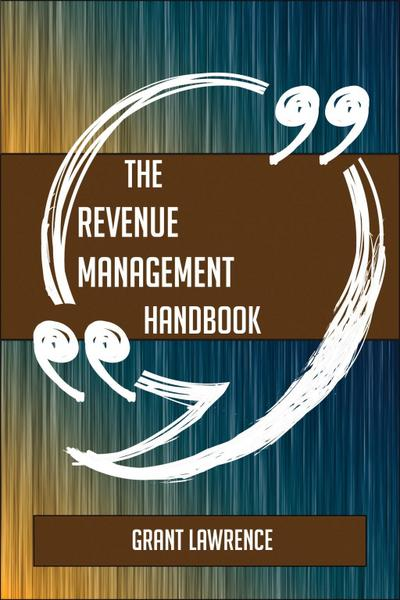The Revenue Management Handbook - Everything You Need To Know About Revenue Management