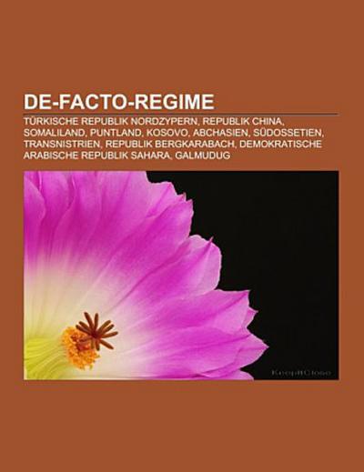 De-facto-Regime