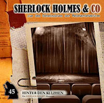 Sherlock Holmes & Co 45. Hinter den Kulissen