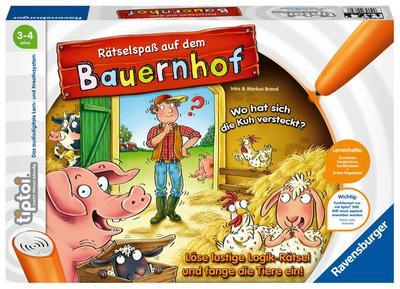 tiptoi® Rätselspaß auf dem Bauernhof (Spiel-Zubehör)