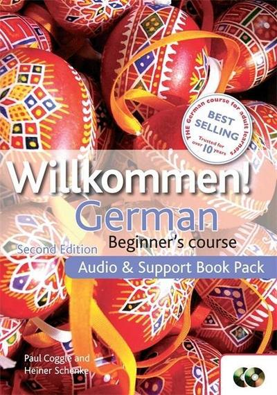 Willkommen German Audio and Support Book Pack
