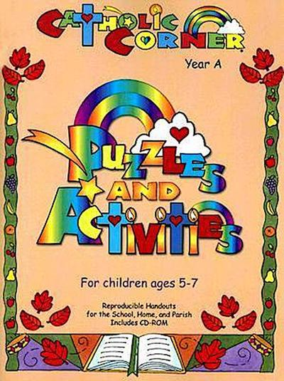 Puzzles and Activities Year A Ages 5-7 [With CDROM]