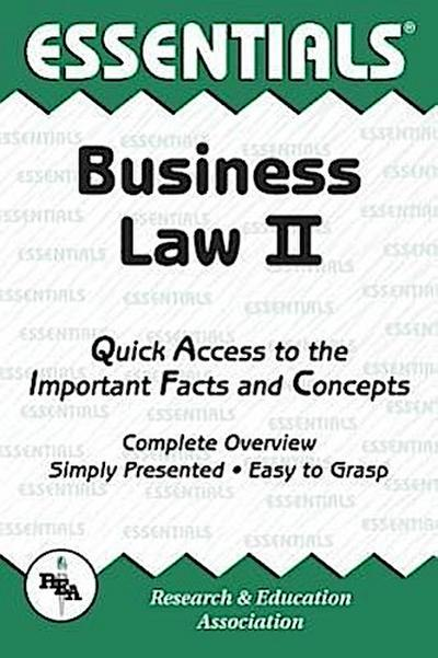 Business Law II Essentials