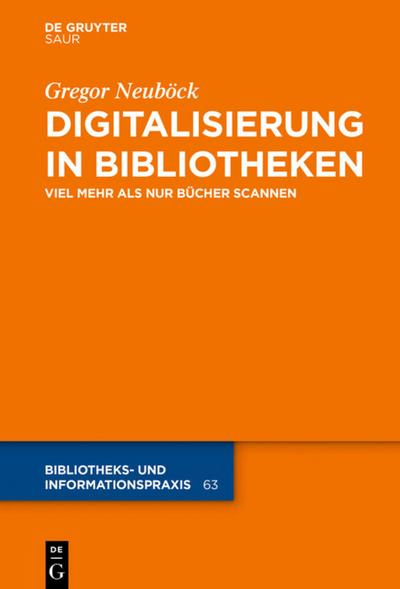 Digitalisierung in Bibliotheken