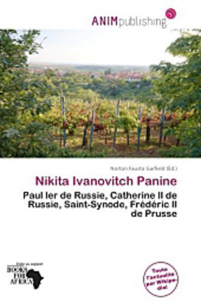 NIKITA IVANOVITCH PANINE