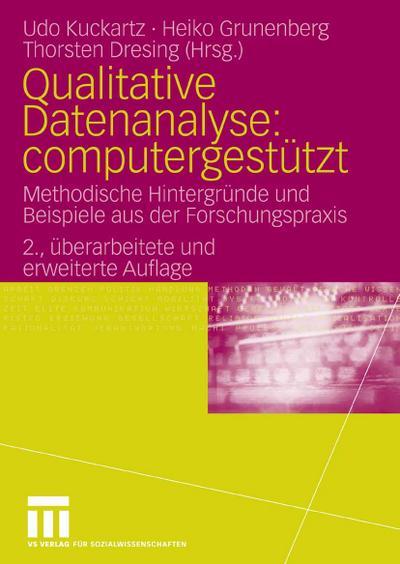 Qualitative Datenanalyse: computergestützt.