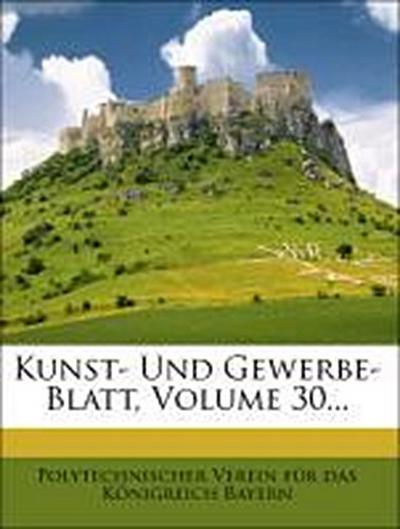 Kunst- und Gewerbe-Blatt.