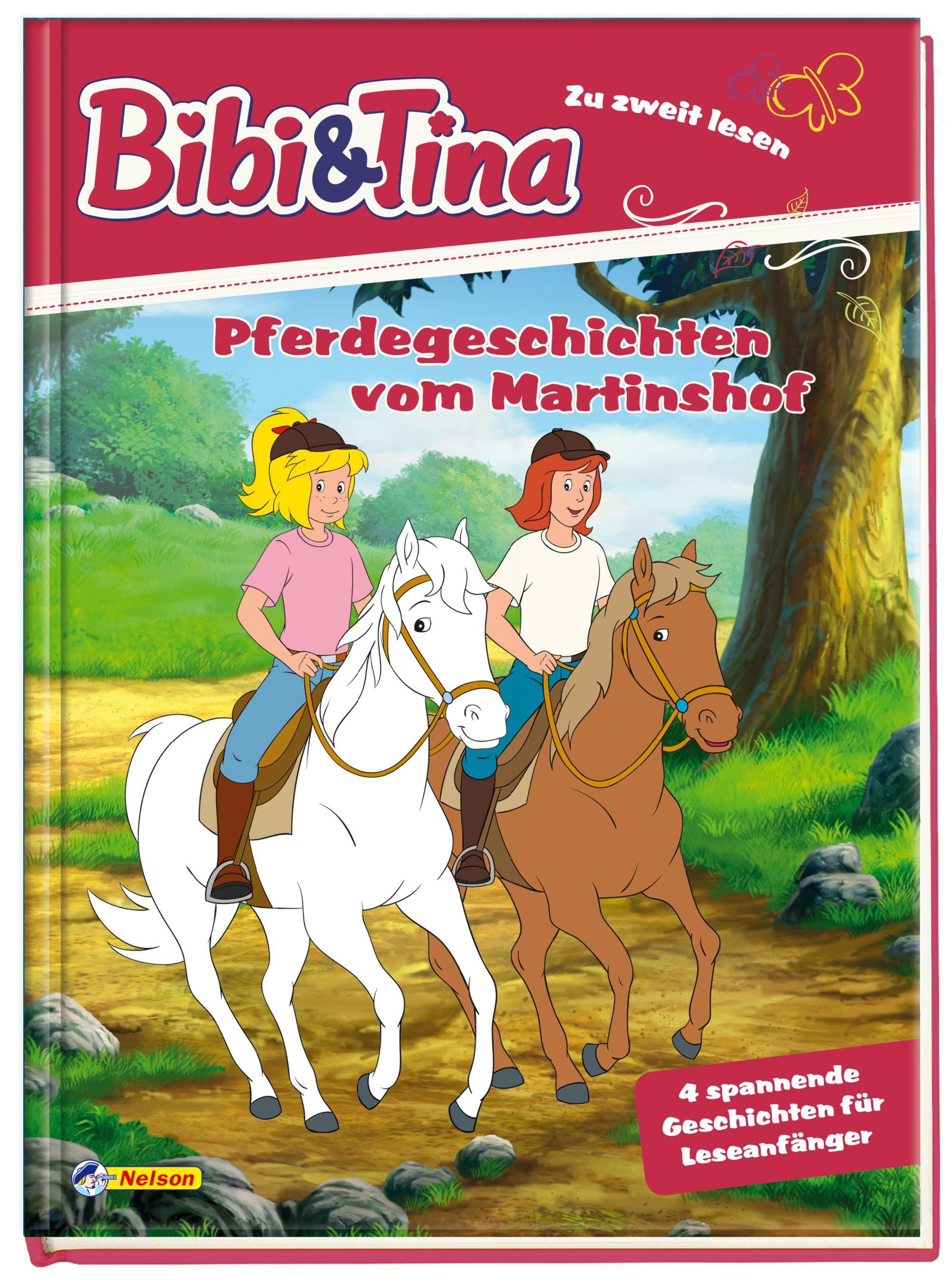 Bibi und Tina: Pferdegeschichten vom Martinshof 9783845106021