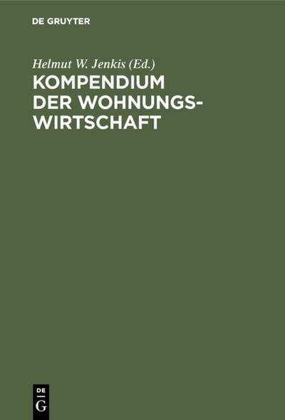 Kompendium der Wohnungswirtschaft
