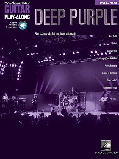 Deep Purple: Guitar Play-Along Volume 190 [With Access Code]