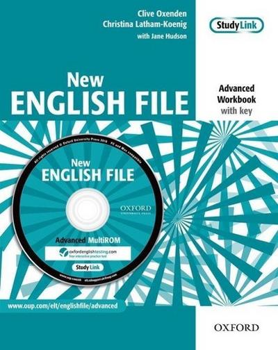 English File - New Edition. Advanced. Workbook with Key and Multi-CD-ROM