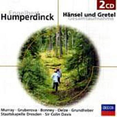 Hänsel und Gretel, Gesamtaufnahme, 2 Audio-CDs