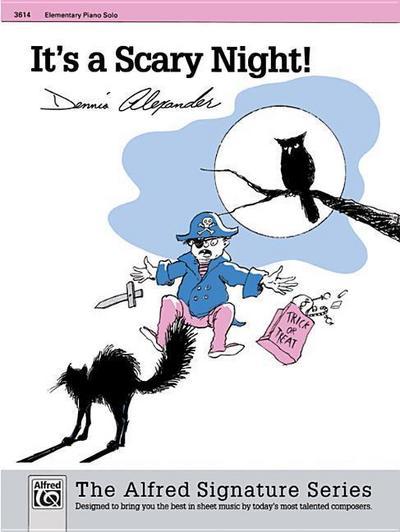 It's a Scary Night!: Sheet