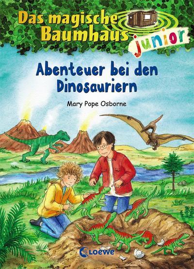 Das magische Baumhaus junior 01 - Abenteuer bei den Dinosauriern