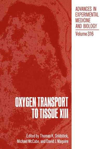 Oxygen Transport to Tissue XIII