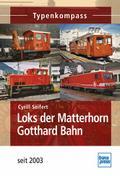 Loks der Matterhorn Gotthard Bahn; seit 2003; ...