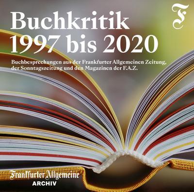 BUCHKRITIK 1997 bis 2020, 1 DVD-ROM