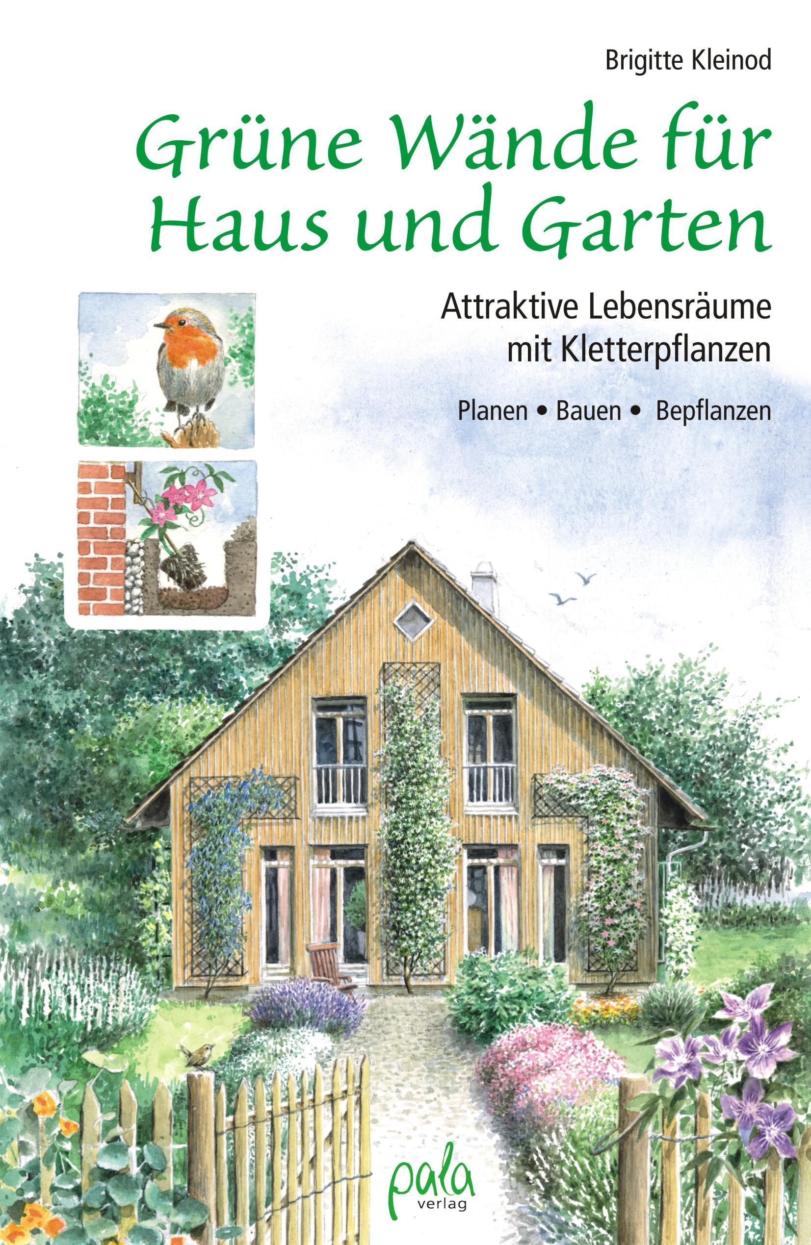Grüne Wände für Haus und Garten