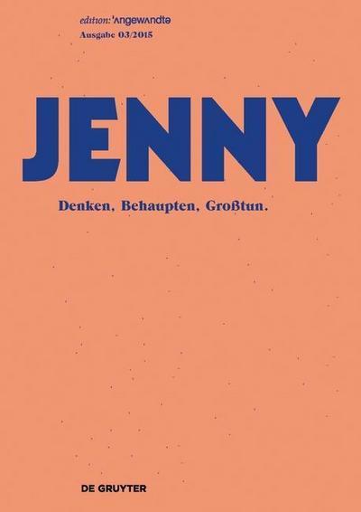 JENNY. Ausgabe 03